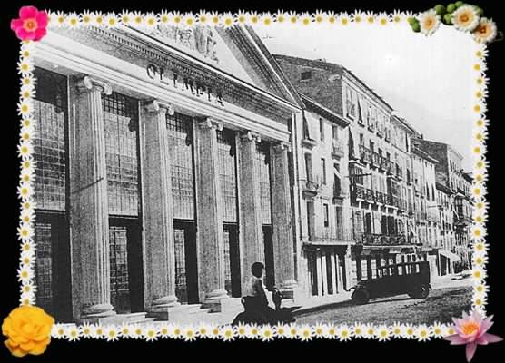 Fotografía Antigua del teatro Olimpia